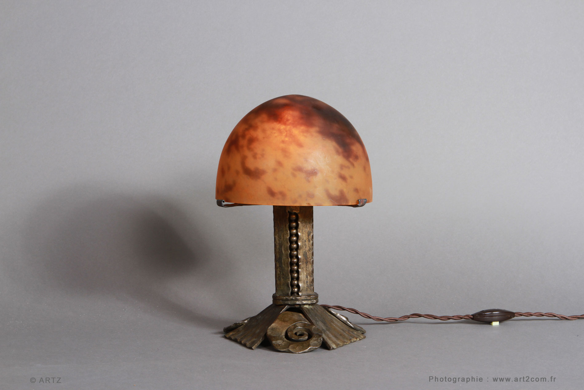 Lampe DAUM NANCY