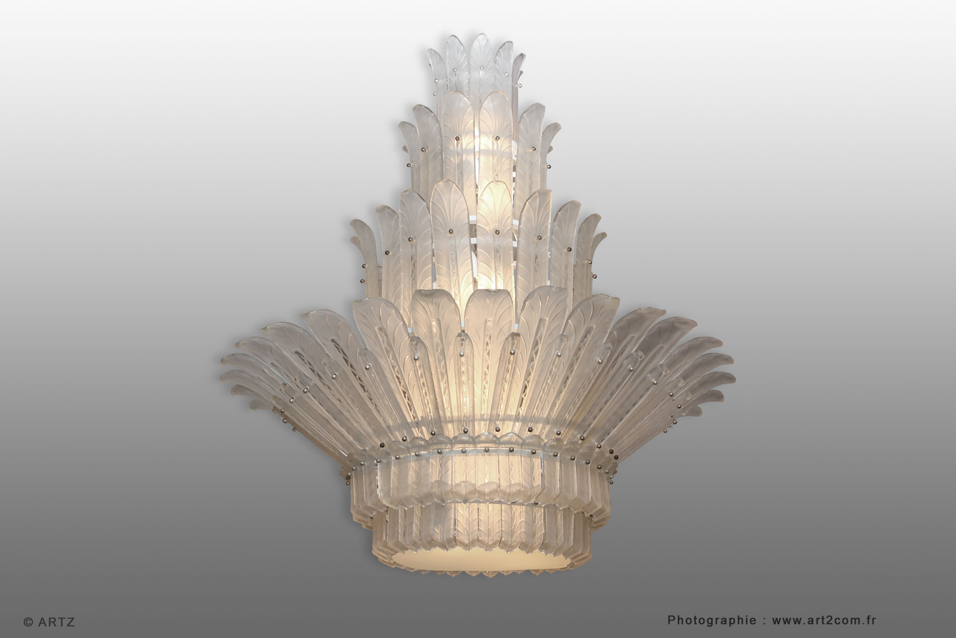 Lustre d'exception SABINO