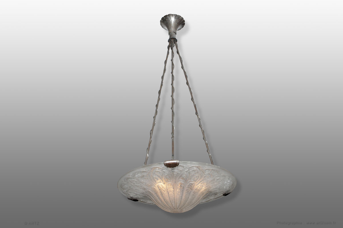 Lustre exceptionnel PAUL KISS - DAUM