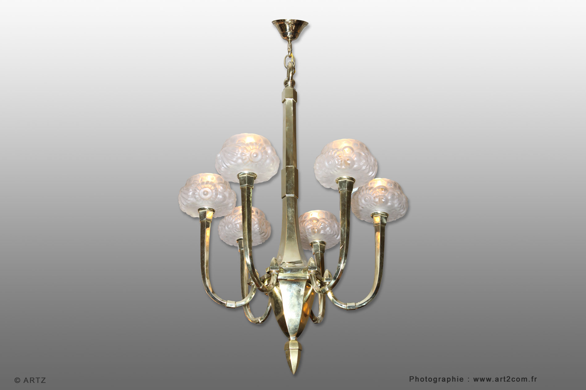 Lustre d'exception GENET ET MICHON