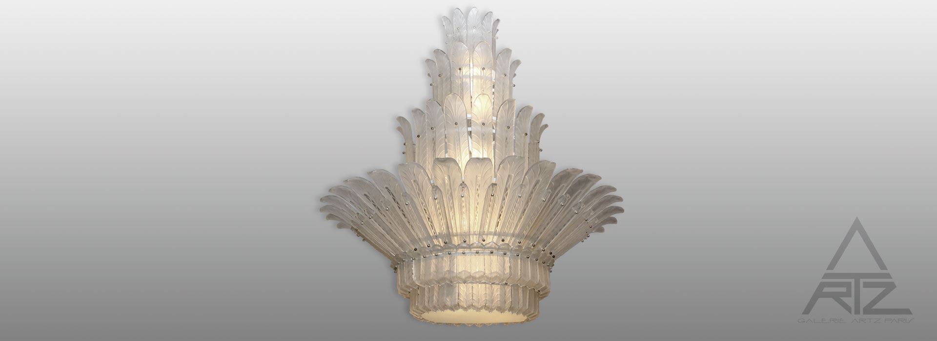 Lustre d'exception SABINO 1930